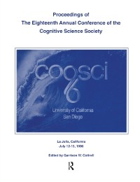 Cover Proceedings of the Eighteenth Annual Conference of the Cognitive Science Society