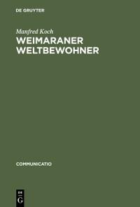 Cover Weimaraner Weltbewohner