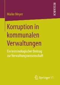 Cover Korruption in kommunalen Verwaltungen