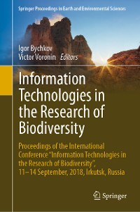 Cover Information Technologies in the Research of Biodiversity