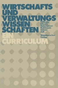 Cover Wirtschafts- und Verwaltungswissenschaften