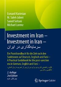 Cover Investment im Iran – Investment in Iran – سرمایهگذاری در ایران