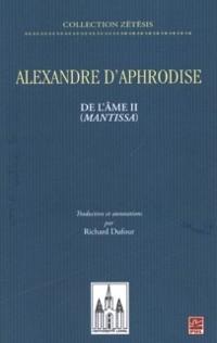 Cover Alexandre d'Aphrodise
