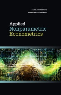Cover Applied Nonparametric Econometrics