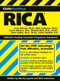 Cover CliffsTestPrep RICA
