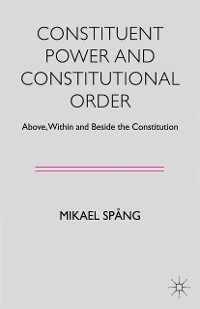 Cover Constituent Power and Constitutional Order