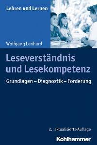 Cover Leseverständnis und Lesekompetenz