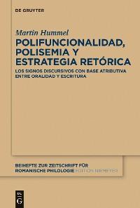Cover Polifuncionalidad, polisemia y estrategia retórica
