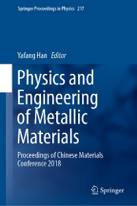 Cover Physics and Engineering of Metallic Materials