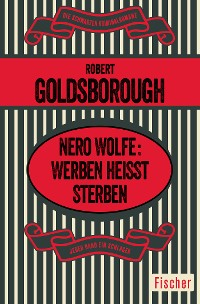 Cover Nero Wolfe: Werben heißt Sterben