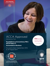 Cover FIA Foundations of Accountant in Business FAB (ACCA F1) (2016)