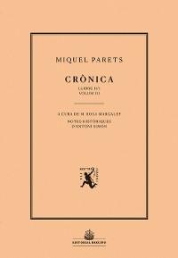 Cover Crònica. Volum III