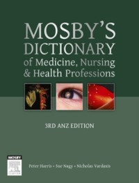 Cover Mosby's Dictionary of Medicine, Nursing and Health Professions - Australian & New Zealand Edition - eBook