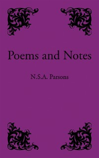 Cover Poems and Notes