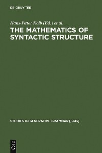 Cover The Mathematics of Syntactic Structure