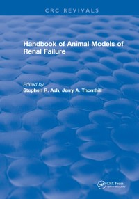 Cover Handbook of Animal Models of Renal Failure