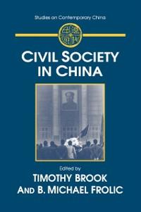 Cover Civil Society in China