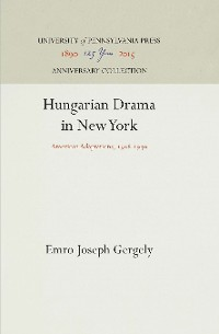Cover Hungarian Drama in New York
