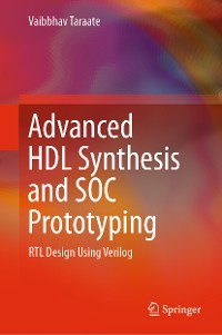 Cover Advanced HDL Synthesis and SOC Prototyping