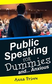 Cover Public Speaking for Dummies and Anxious