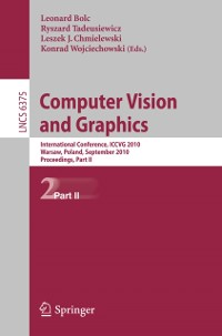 Cover Computer Vision and Graphics