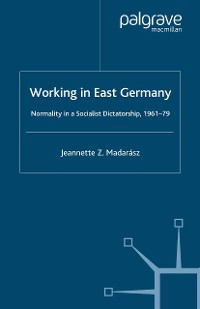 Cover Working in East Germany