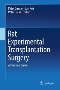 Cover Rat Experimental Transplantation Surgery