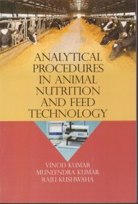Cover Analytical Procedures In Animal Nutrition And Feed Technology