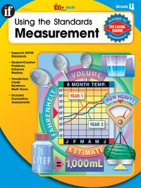 Cover Using the Standards - Measurement, Grade 4