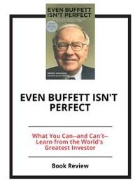 Cover Even Buffett Isn't Perfect