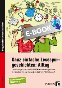Cover Ganz einfache Lesespurgeschichten: Alltag