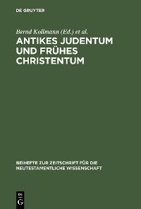 Cover Antikes Judentum und Frühes Christentum