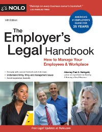 Cover Employer's Legal Handbook, The