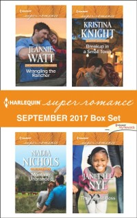 Cover Harlequin Superromance September 2017 Box Set: Wrangling the Rancher / Montana Unbranded / Breakup in a Small Town / The Littlest Boss (Mills & Boon Superromance)