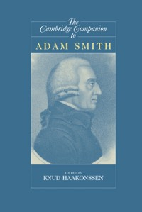 Cover Cambridge Companion to Adam Smith