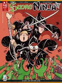 Cover Suore Ninja n°1 - Zombie gay in Vaticano