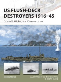 Cover US Flush-Deck Destroyers 1916 45