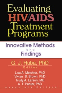 Cover Evaluating HIV/AIDS Treatment Programs
