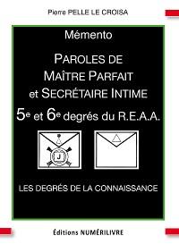 Cover Mémento 5e et 6e degrés du R.E.A.A.