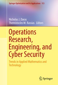 Cover Operations Research, Engineering, and Cyber Security