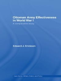 Cover Ottoman Army Effectiveness in World War I