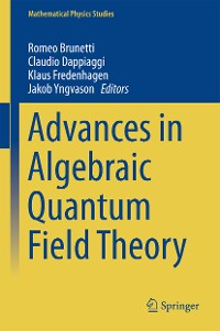 Cover Advances in Algebraic Quantum Field Theory