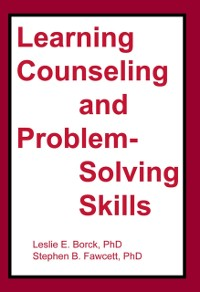Cover Learning Counseling and Problem-Solving Skills