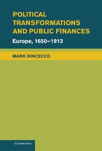 Cover Political Transformations and Public Finances