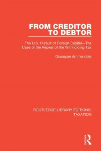 Cover From Creditor to Debtor