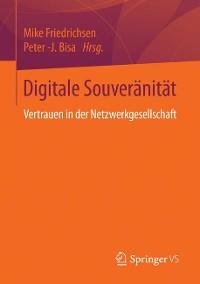 Cover Digitale Souveränität
