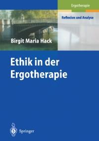 Cover Ethik in der Ergotherapie