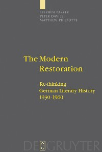 Cover The Modern Restoration