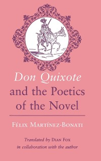"Cover ""Don Quixote"" and the Poetics of the Novel"