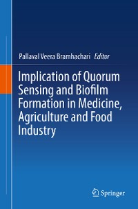 Cover Implication of Quorum Sensing and Biofilm Formation in Medicine, Agriculture and Food Industry